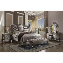 VERSAILLES SILVER CAL KING BED