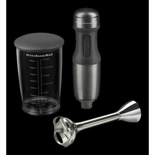 KitchenAid - 2-Speed Hand Blender Liquid Graphite