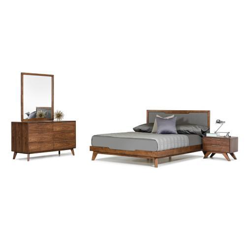 VIG Furniture - Nova Domus Soria Modern Grey & Walnut Bedroom Set