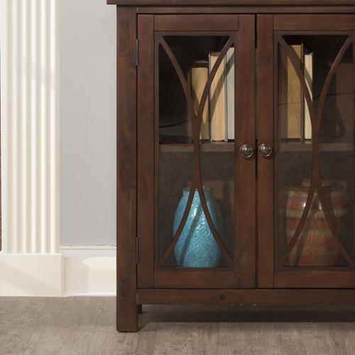 Hillsdale Furniture - Bayside 2 Door Cabinet - Rustic Mahogany