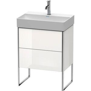 Vanity Unit Floorstanding Compact, White High Gloss (lacquer)