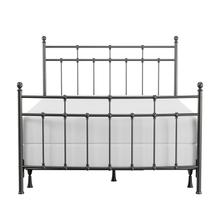 See Details - Providence Metal Queen Bed, Aged Pewter