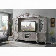 ACME Bently Entertainment Center - 91660 - Vintage, Traditional - Wood (), Poly-Resin - Champagne