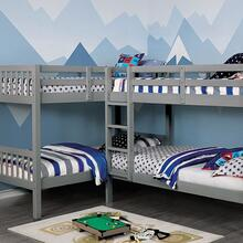 Quadruple Twin Bunk Bed Marqutte