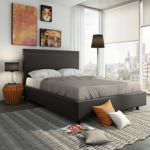 Gastown Upholstered Bed - Queen