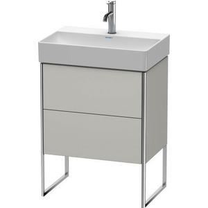 Vanity Unit Floorstanding Compact, For Durasquare # 235660concrete Gray Matte (decor)