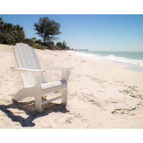 Slate Grey Vineyard Curveback Adirondack Chair
