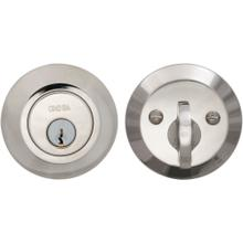 Modern Auxiliary Deadbolt Kit in (US14 Polished Nickel Plated, Lacquered)