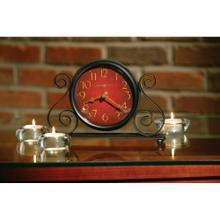 Howard Miller Marisa Iron Table Clock 645649