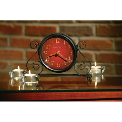 Howard Miller Marisa Iron Table Clock 645649
