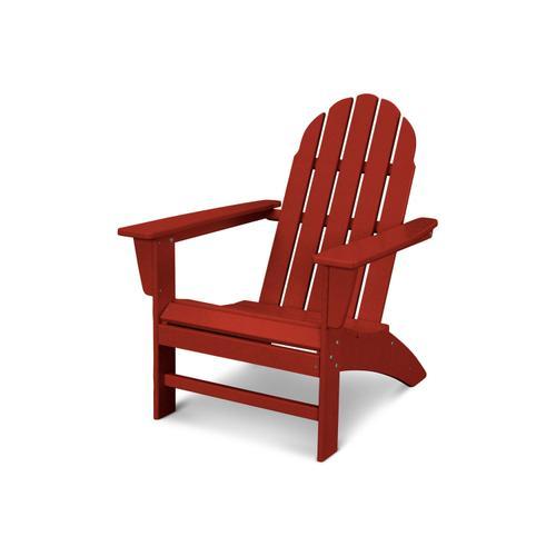 Crimson Red Vineyard Adirondack Chair