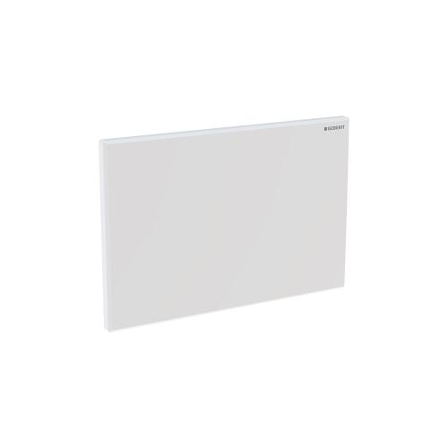 Cover Plates For use with remote flush buttons with Sigma and Omega in-wall systems Sigma 2x6 and 2x4 in-wall systems Compatibility Plastic - Matte chrome Material - Finish
