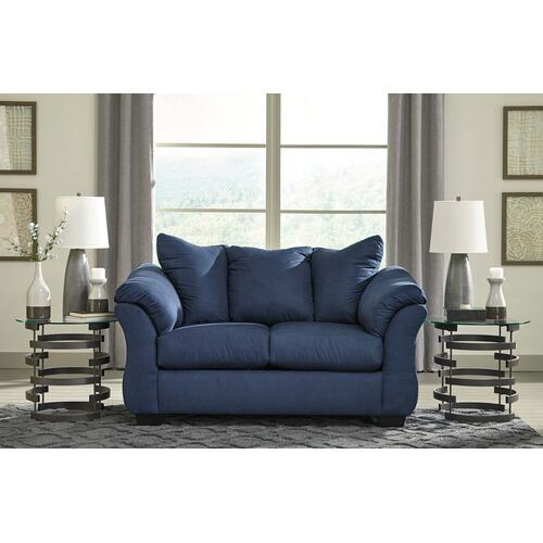 Darcy Loveseat Blue