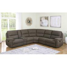 See Details - Variel 6 PC Reclining Sectional - Customizable - Add More Seats