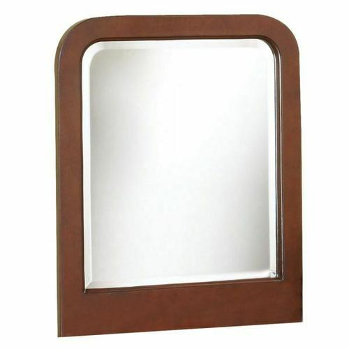 ACME Louis Philippe Vanity Mirror - 06566 - Brown