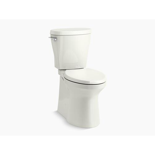 Kohler - Dune Betello(tm) Comfort Height Two-piece Elongated 1.28 Gpf Toilet Skirted Trapway, Revolution 360 Swirl Flushing Technology and Left-hand Trip Lever, Seat Not Included