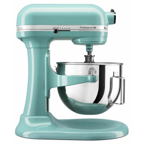 KitchenAid - Professional HD™ Series 5 Quart Bowl-Lift Stand Mixer - Aqua Sky