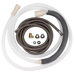 GE Large-Port 10' Drain Hose Kit (Tall Tub)