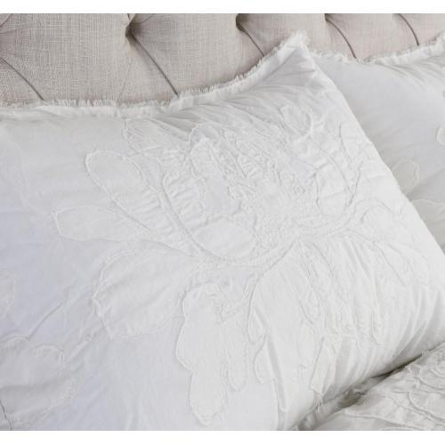 Matira Antique Cream 3Pc Comforter Queen Set