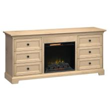 See Details - FP72J Fireplace Custom TV Console