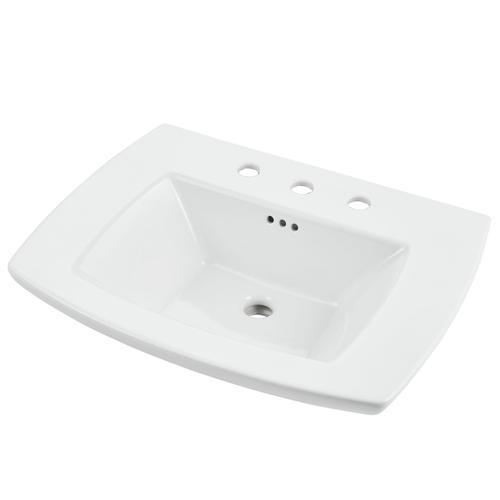 American Standard - Edgemere Bathroom Sink Top  8-inch Centers  American Standard - White