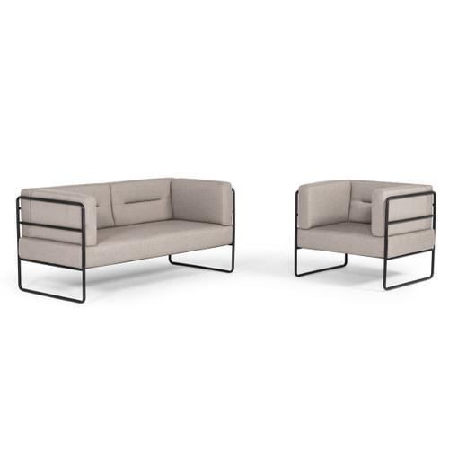 VIG Furniture - Modrest Norman Modern Grey Fabric Lounge Chair