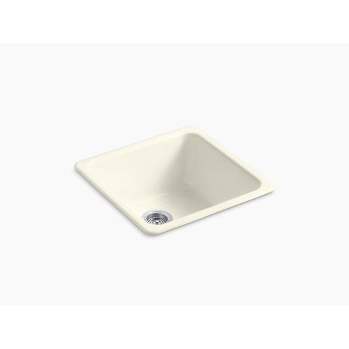 """Biscuit 20-7/8"""" X 20-7/8"""" X 10"""" Top-mount/undermount Single-bowl Kitchen Sink"""