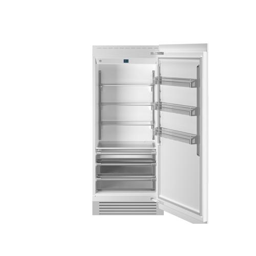 "36"" Built-in Refrigerator Column Panel Ready Panel Ready"