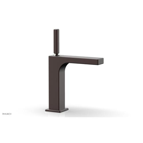 MIX Single Hole Lavatory Faucet, Blade Handle 290-06 - Weathered Copper