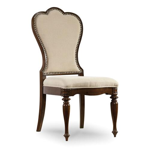 Dining Room Leesburg Upholstered Side Chair - 2 per carton/price ea