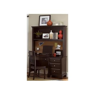 3-Drawer Studio Desk With Optional Hutch