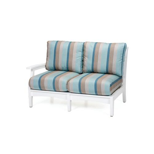 Classic Terrace Right Arm Sectional Loveseat