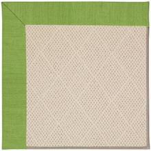 "Creative Concepts-White Wicker Canvas Lawn - Rectangle - 24"" x 36"""