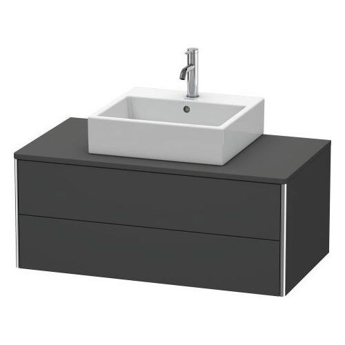 Product Image - Vanity Unit For Console Wall-mounted, Graphite Matte (decor)