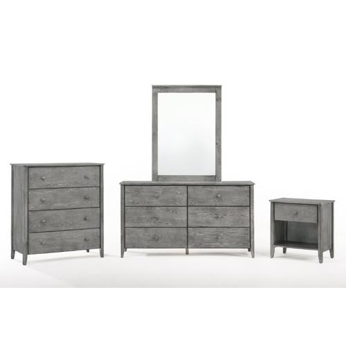 Zest Cases in Rustic Gray Finish