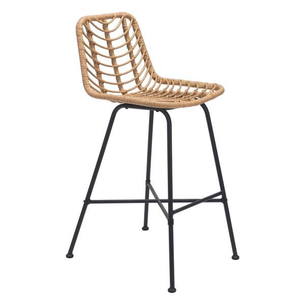 See Details - Malaga Bar Chair Natural