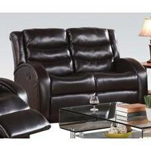 Espresso Loveseat W/motion @n