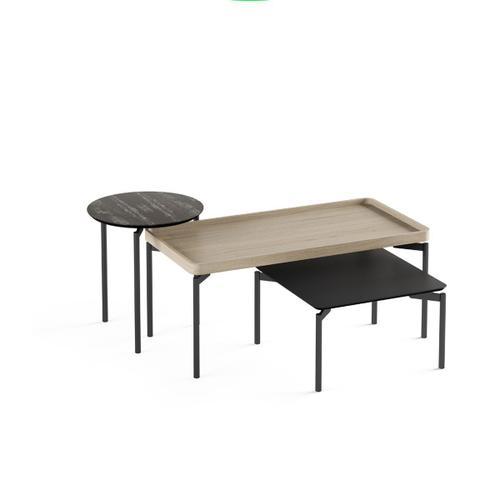 1732 Rectangular Coffee Table BDI in Drift Oak