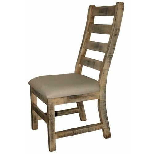Million Dollar Rustic - Padded Burnt Cream Savannah Chair
