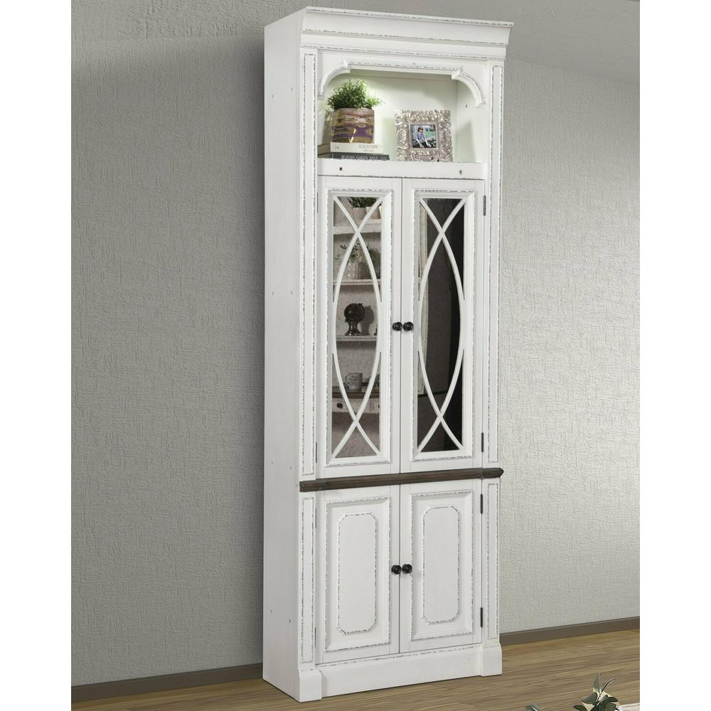 See Details - PROVENCE 32 in. Glass Door Cabinet
