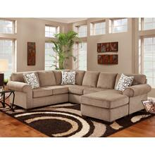 3050 Jesse LAF Sofa in Cocoa (MFG#: 3051 JESC)
