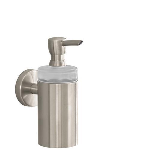 Brushed Nickel Soap Dispenser