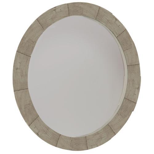 Piper Round Mirror in Morel