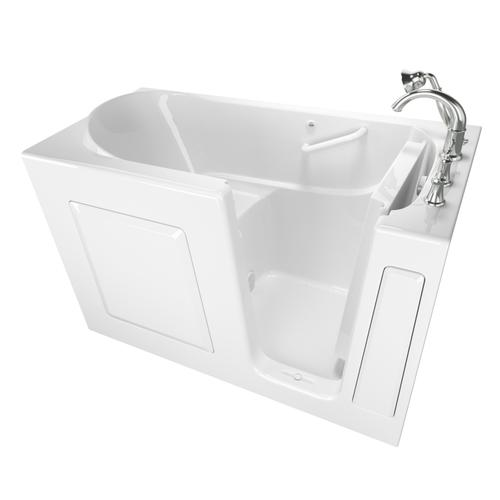 Gelcoat Value Series 30 x 60 Inch Walk-in Bathtub  Right Drain  American Standard - White