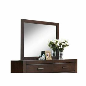 ACME Oberreit Mirror - 25794 - Walnut