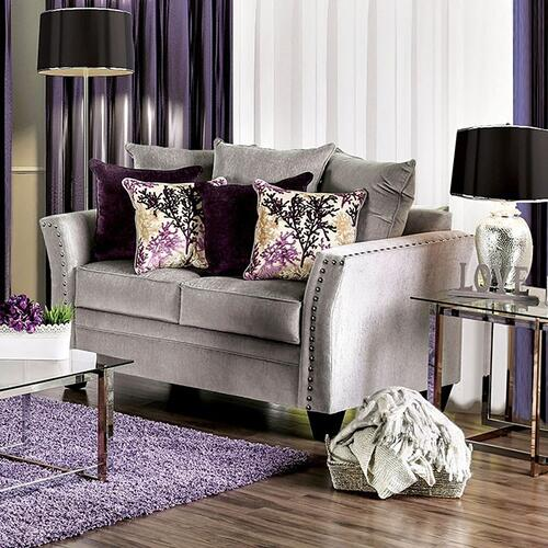 Furniture of America - Oliviera Love Seat