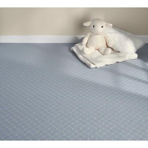 Luxury Distinctive 2 Dis2 Soft Blue Broadloom Carpet