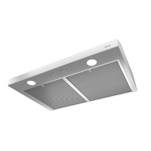 Broan® 24-Inch Convertible Under-Cabinet Range Hood, White