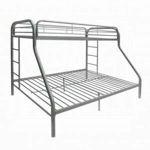 ACME Tritan Twin XL/Queen Bunk Bed - 02052SI - Silver