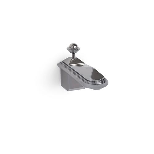 Brushed Chrome Pyramid Wall Mount Tub Spout